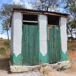 The Water Project: Kyandoa Primary School -  Staff Latrines
