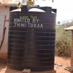 The Water Project: Kyandoa Primary School -  Water Storage Tank