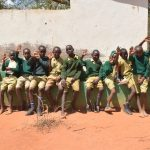 The Water Project: AIC Mbao Primary School -  Boys Waving