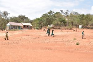 The Water Project:  Children Playing On School Grounds