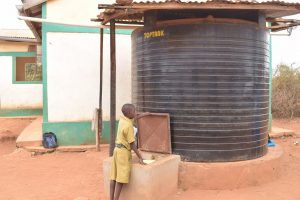 The Water Project:  Filling Container At Water Tank