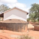 The Water Project: AIC Mbao Primary School -  Old Rainwater Tank