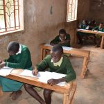 The Water Project: AIC Mbao Primary School -  Students In Class