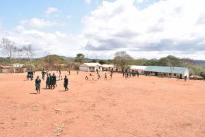 The Water Project:  View Of The School