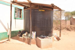 The Water Project:  Water Storage Tank