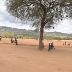 The Water Project: Kithoni Primary School -  Students At Recess
