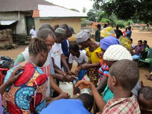 The Water Project:  Building Tippy Taps For Handwashing