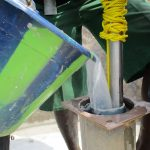 The Water Project: Lungi Town, 112 Alimamy Seray Modu Road -  Chlorinating The Pump