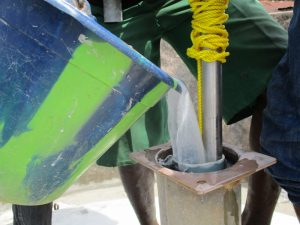 The Water Project:  Chlorinating The Pump