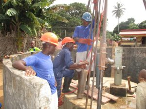 The Water Project:  Drill Team In Action