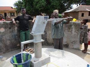 The Water Project:  Pump Installation Complete