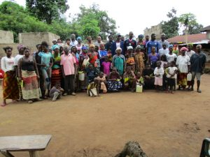The Water Project:  Some Of The Training Participants Gather For A Photo