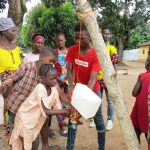 The Water Project: Lungi Town, 112 Alimamy Seray Modu Road -  Tippy Tap In Action