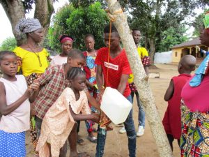 The Water Project:  Tippy Tap In Action
