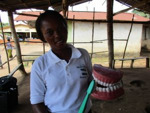 The Water Project:  Toothbrushing Demonstration