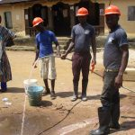 The Water Project: Lungi Town, 112 Alimamy Seray Modu Road -  Water Yield Test