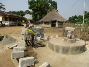 The Water Project:  Bricks For The Well Wall