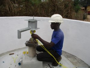 The Water Project:  Installing Pump