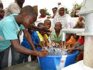 The Water Project:  Kids Play At New Well