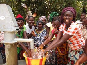 The Water Project:  Women Excited For Reliable Water