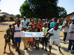 The Water Project:  Signing And Dancing At The Dedication Ceremony