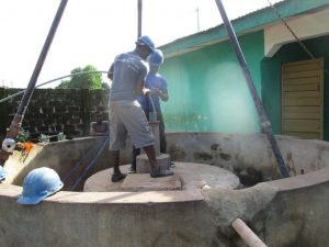 The Water Project:  Flushing The Well