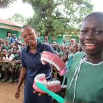 The Water Project: Kamasando DEC Primary School -  Fun At The Training