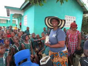 The Water Project:  Glitter For Handwashing And Germ Demonstration