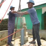 The Water Project: Kamasando DEC Primary School -  Hand Drilling