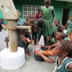 The Water Project: Kamasando DEC Primary School -  Playing At The New Well