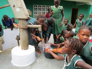 The Water Project:  Playing At The New Well