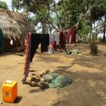 The Water Project: Tholmossor, Amputee Camp -  Clothesline