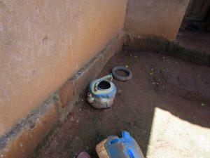 The Water Project:  Improvized Handwashing Station