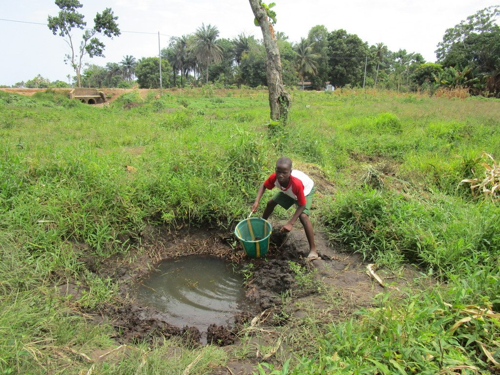 The Water Project : sierraleone19264-swamp