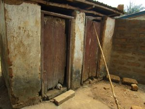 The Water Project:  Latrine And Bathshelter