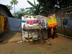 The Water Project:  Clothes Out To Dry