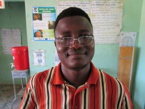 The Water Project:  Abdulai Sanga
