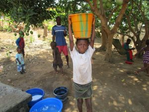 The Water Project:  About To Take Water Home