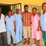 The Water Project: Targrin Health Post -  Clinic Staff
