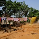 The Water Project: Targrin Health Post -  Clothes Hanging To Dry