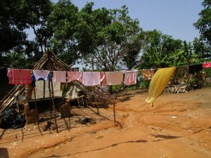 The Water Project:  Clothes Hanging To Dry