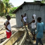 The Water Project: Targrin Health Post -  Fishing Boat Under Construction