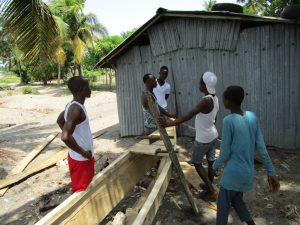 The Water Project:  Fishing Boat Under Construction