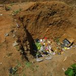 The Water Project: Targrin Health Post -  Garbage Pit