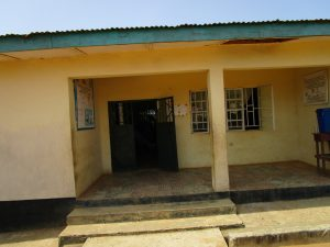 The Water Project:  Health Center Entrance