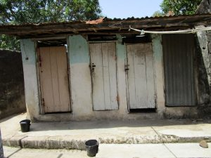 The Water Project:  Latrines At The Clinic