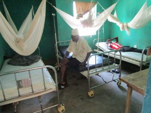The Water Project:  Patients In The Health Center