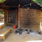 The Water Project: Targrin Health Post -  Kitchen