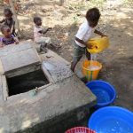 The Water Project: Targrin Health Post -  Open Well