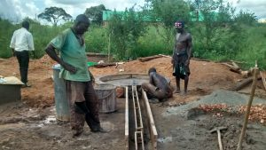 The Water Project:  Constructing Drainage Area